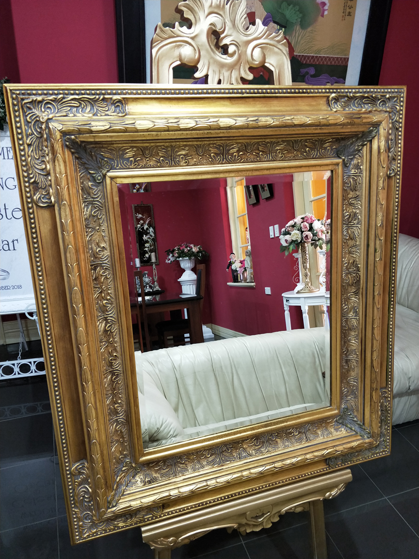 Versace Gold Antique Mirror