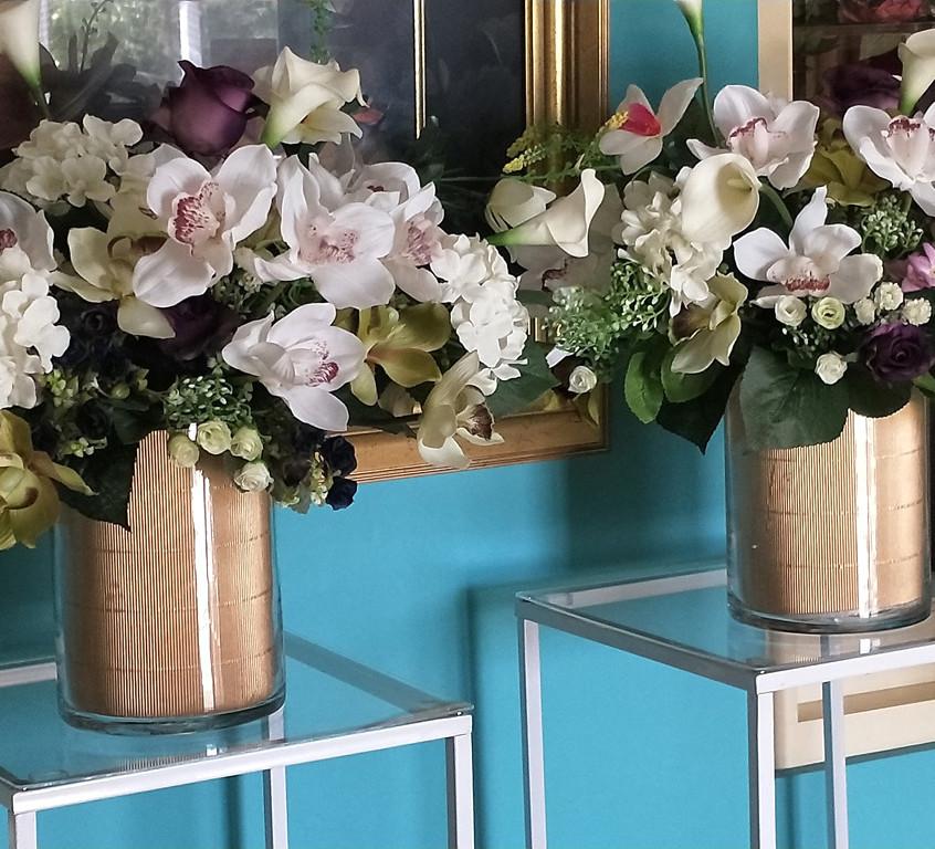 Florals in vases