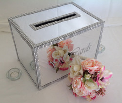 Mirrored Gift Cards Box