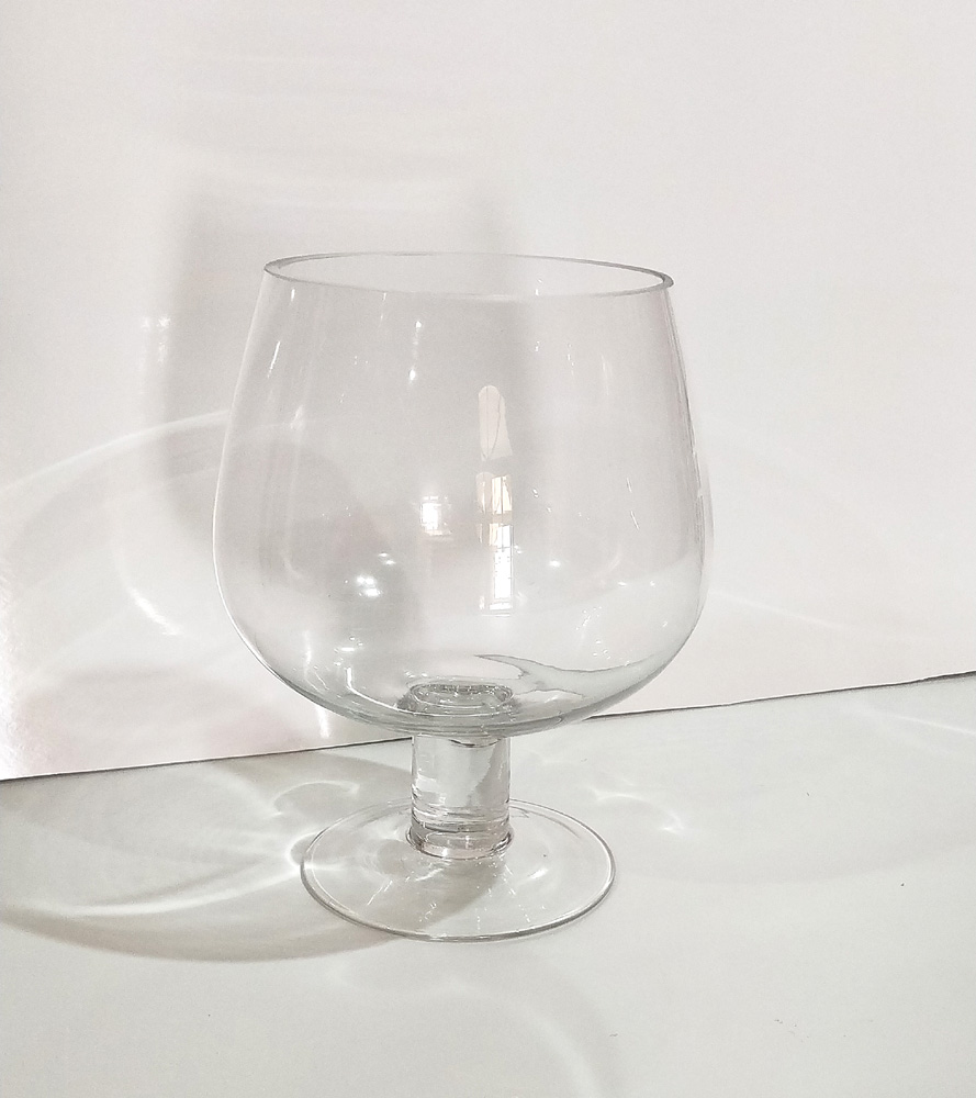 Glass Cognac Bowl