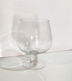 Glass Cognac Bowl