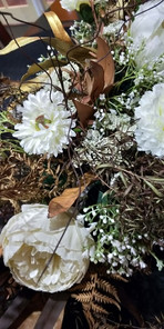 Twigs and dried foliage