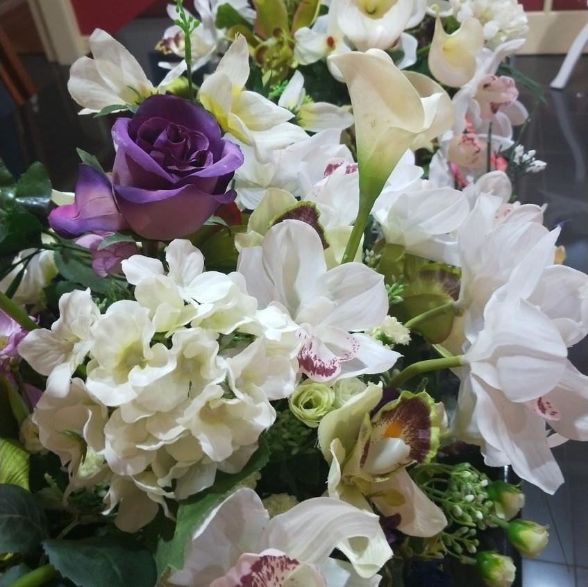 Pretty florals in a row