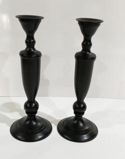 Black slender Candle sticks