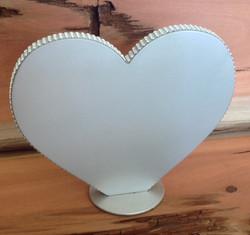 Diamante Silver Heart