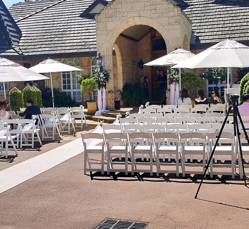 Ceremony Location at Brookleigh