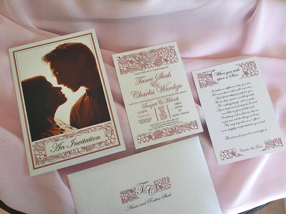 Custom Design Invitation Suite