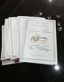 Ceremony Church Booklets