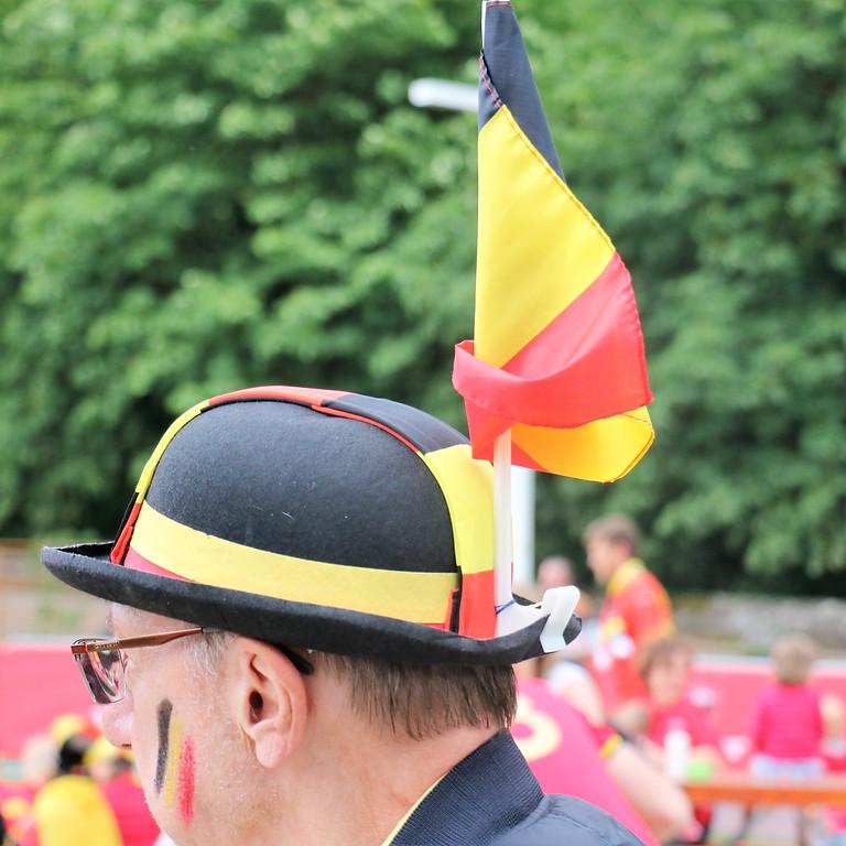 EK Voetbal: België - Denemarken
