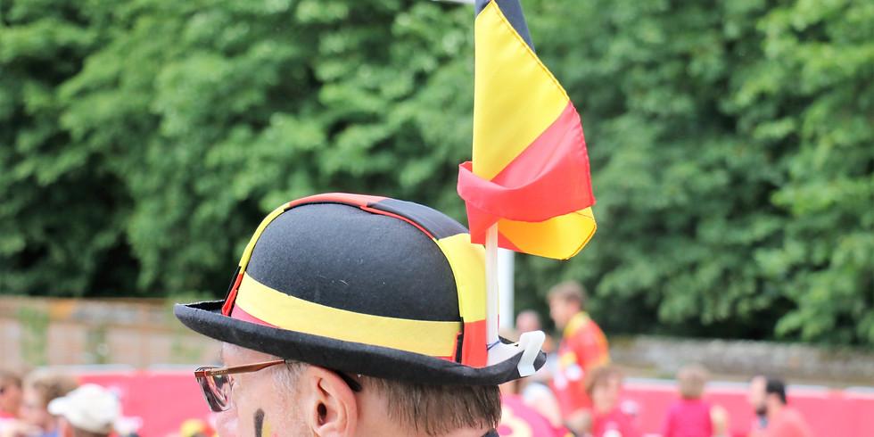 EK Voetbal: België - Rusland