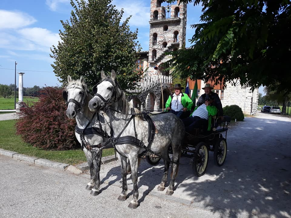 Robert Čož, blagoslov konj na Barju 2020