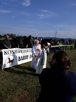 09, blagoslov konj na Barju 2020