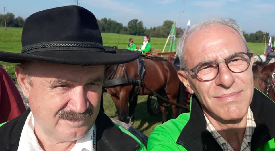 Marjan in Stane, blagoslov konj na Barju