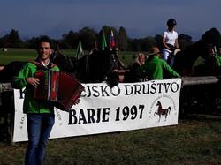 12, blagoslov konj na Barju 2020