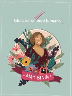 Amy binin