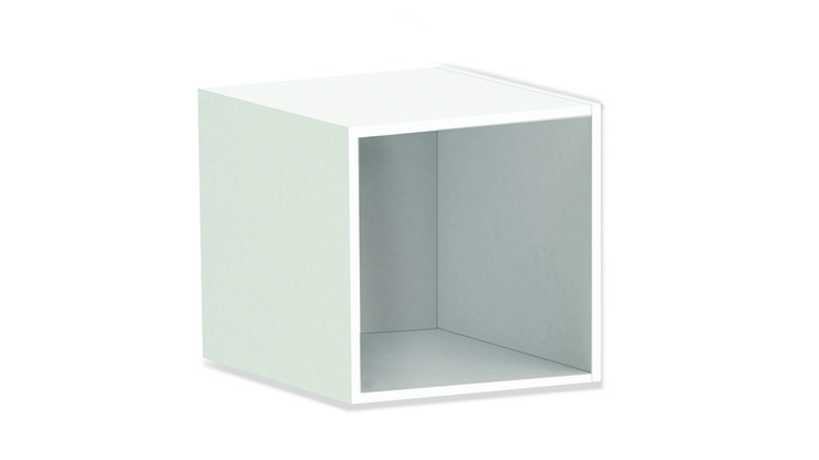 CRUZ    Description :  Structure in oak veneer (other finishes/sizes on demand)   Size (LxWxH) :  50 x 40 x 50 cm