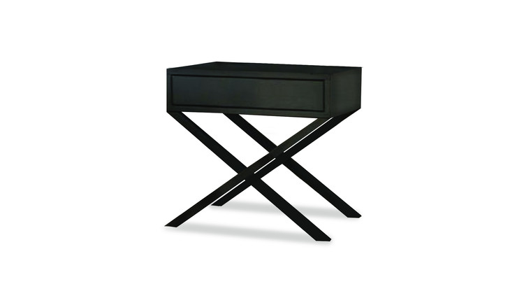 SANTA FE   Description :  Structure in laquered MDF 1 drawer included (other finishes/sizes on demand)   Size (LxWxH) :  50 x 40 x 50 cm