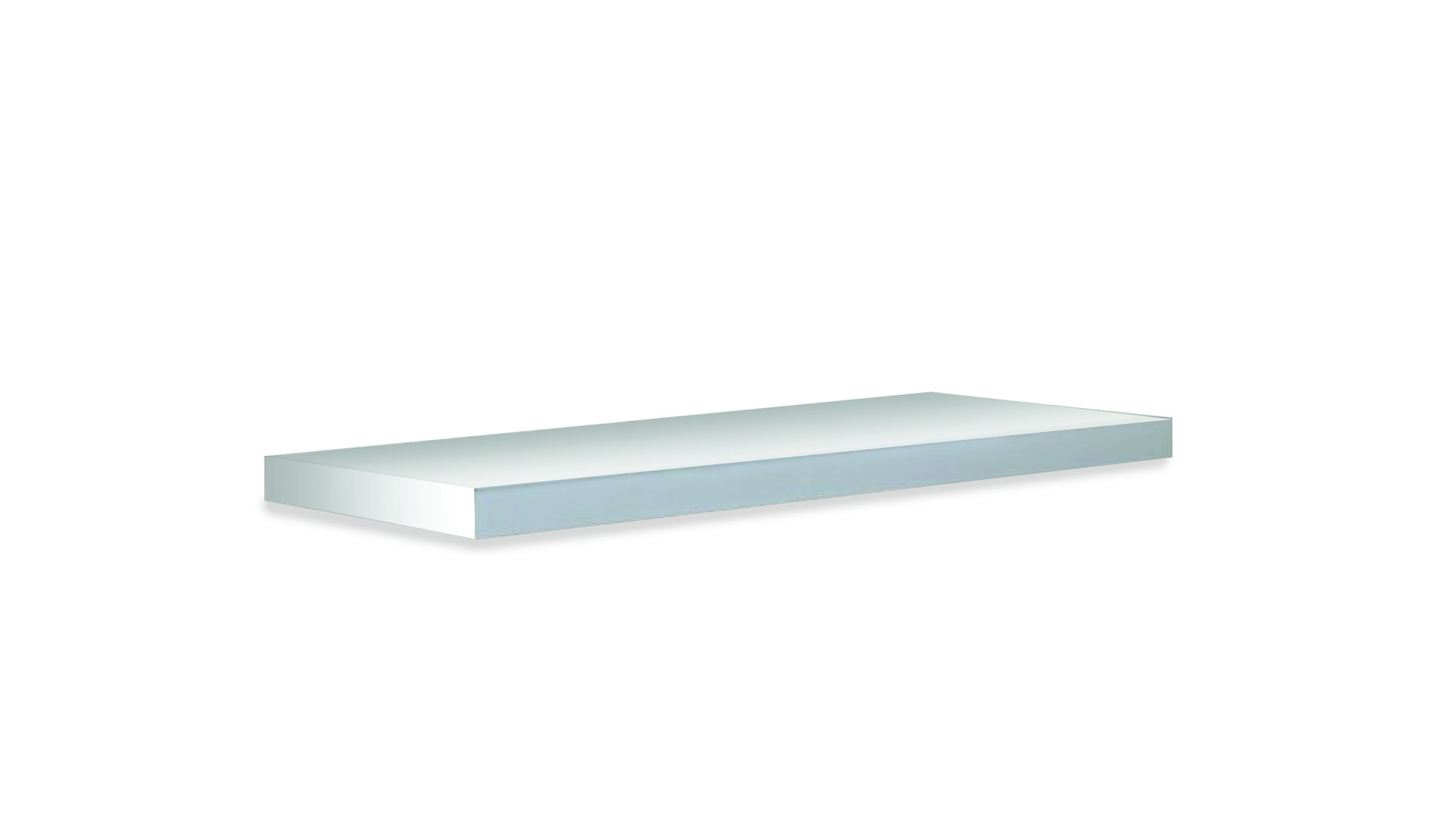 VALLE  Description :  Floatting shelf, depth: 25cm Wall fixation included (other finishes/sizes on demand)