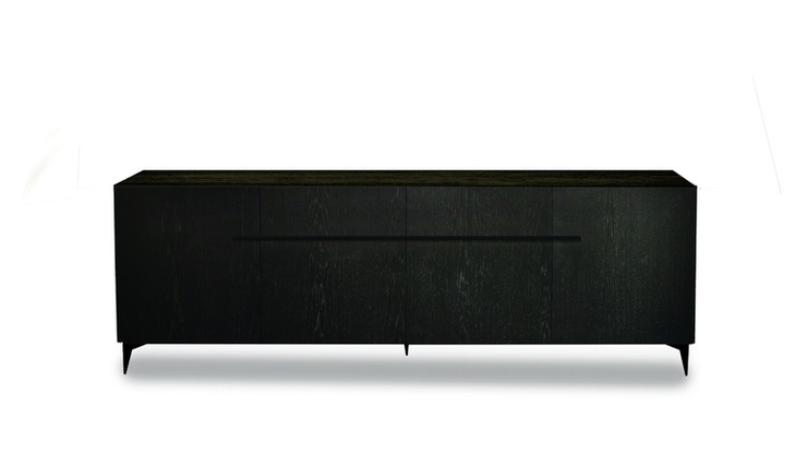 ANACO  Description :  Structure in Oak veneer 3 drawers included (other finishes/sizes on demand)   Size (LxWxH) :  160 x 160 x 75 cm 200 x 160 x 75 cm 240 x 160 x 75 cm