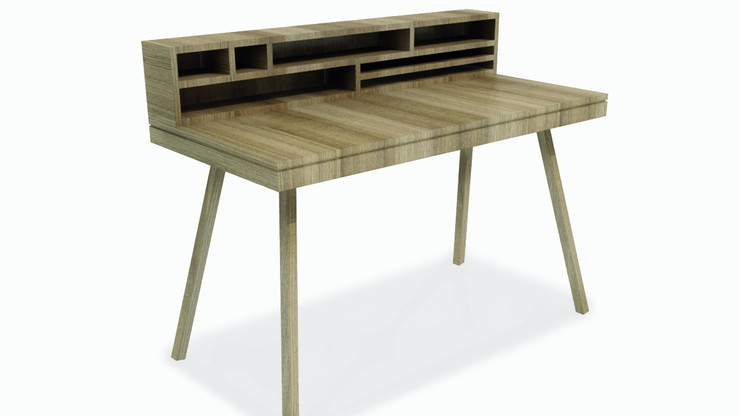 TURMERO  Description :  Structure in Oak veneer 3 drawers included (other finishes/sizes on demand)   Size (LxWxH) :  160 x 160 x 75 cm 200 x 160 x 75 cm 240 x 160 x 75 cm