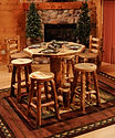 Rocky Mountain Aspen Log Kitchen & Dining Furniture