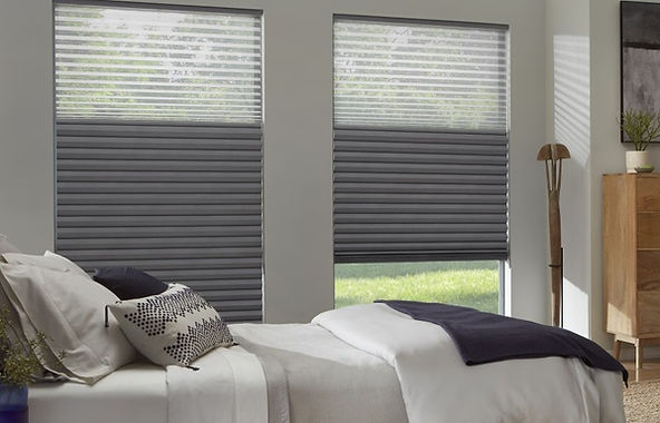 Contemporary rooms flat fold and classic roman shades