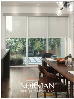Roller Shades over SGD