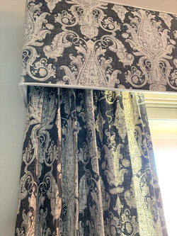 Charcoal Fabric Linen Vintage