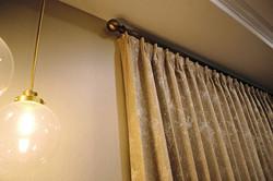 Details 🤩 we paired room darkening drap
