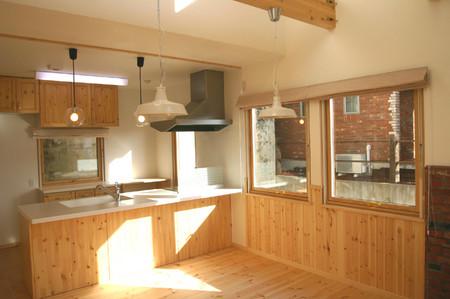 北欧住宅 キッチン