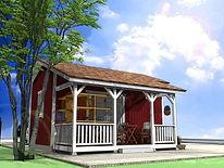 福島のお洒落な小屋