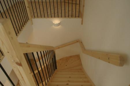 北欧住宅階段
