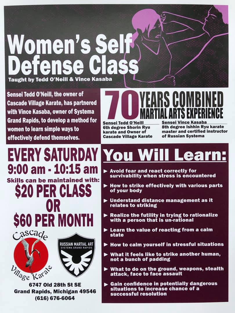 Ongoing Women's Class