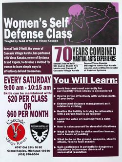 Ongoing Women's Class