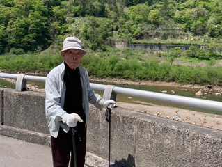 改石 98歳になりました。