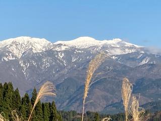 白山はもう冬です