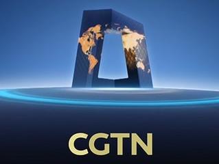 News | CandleX on the CGTN news on World Health Day