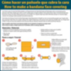 Covid-bandana-mask-Spanish-English-graph