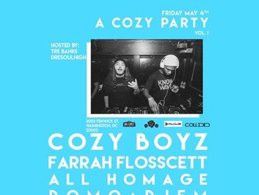 "EVENT REVIEW: Molly Rose PRESENTS.... ""A Cozy Party Vol. 1"""