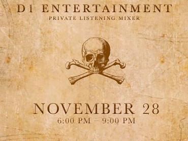 "EVENT REVIEW: D1 Entertainment PRESENTS........ ""Private Listening Mixer"""