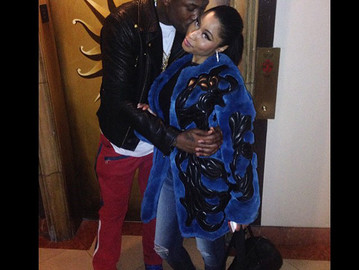Nicki and Meek finally going PUBLIC!!!