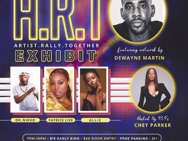 """EVENT REVIEW: Sag7 Entertainment PRESENTS """"A.R.T. (Artist Rally Together) Exhibit"""""""