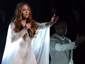 BEYONCE PERFORMS @ THE 57TH GRAMMY AWARDS LAST NIGHT!