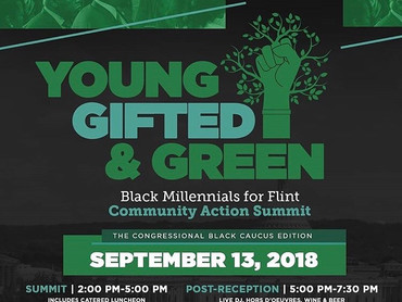 """EVENT REVIEW: Black Millennials for Flint """"Young, Gifted & Green"""""""