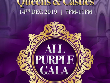 "EVENT SPOTLIGHT: DC Now Events PRESENTS ""Queens & Castles All Purple Gala"""