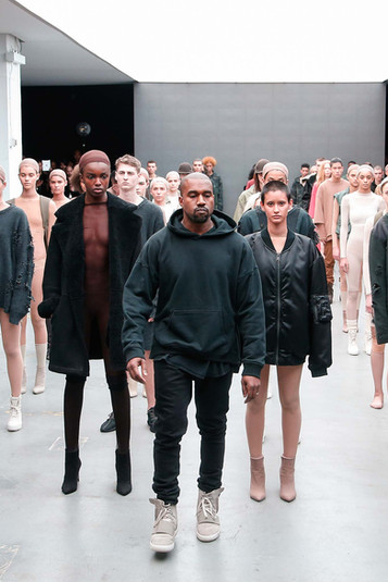 Kanye West Debuts to line with Adidas