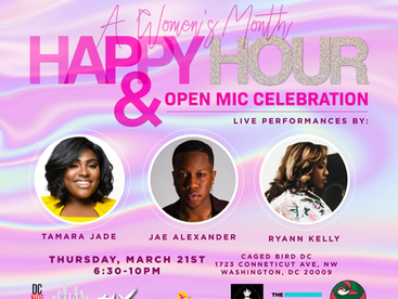 """EVENT REVIEW: ANJPR Consulting PRESENTS.......... A Women's Month """"Happy Hour & Open Mi"""
