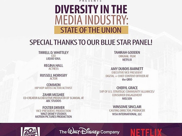 """EVENT REVIEW: MMCA (Multicultural Media Correspondents Association) PRESENTS """"Diversity In The"""