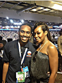 TheMediaPrince & Tichina Arnold