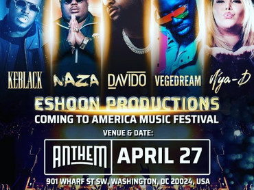 """EVENT REVIEW: ESHOON PRODUCTIONS PRESENTS... """"COMING TO AMERICA MUSIC FESTIVAL"""""""